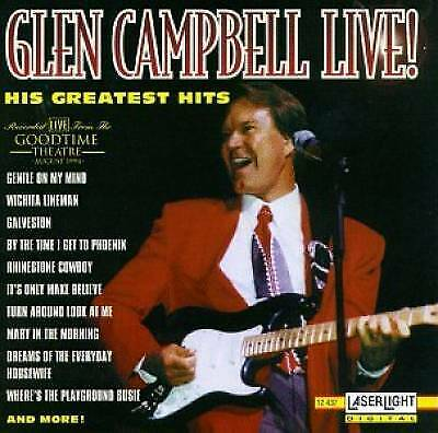 Glen Campbell Live! His Greatest Hits by Glen Campbell