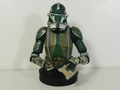 Buste collection figurine résine STAR WARS Altaya n°7 Commander Gree 11,5cm RARE