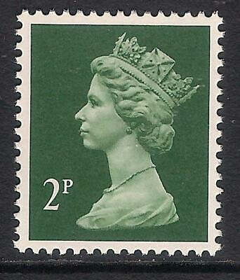 GB 1988 sg X1001 2p Green litho. phosphorised paper perf 15x14 T367a MNH