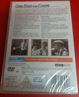 One Foot In The Grave - Series 2 (DVD, 2005, 2-Disc Set) New With Xmas Special
