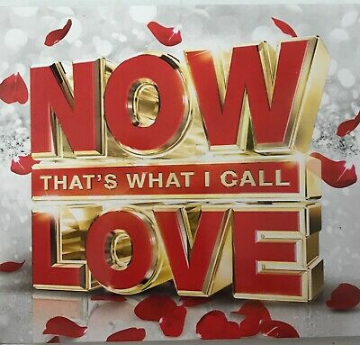 Various Artists : Now That's What I Call Love 2016 (3xCD) New Sealed Free UK P&P
