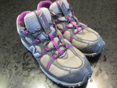 4ca039339ca61 Womens New Balance 361 All Terrain Hiking Shoes Running 7.5 Sneakers Gray  Purple