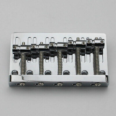 New 5 String Electric Bass Bridge For ESP,Schecter,Xotix,Rogue,Yamaha,Fender,etc