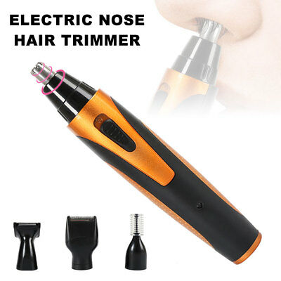 Men's Electric Shaver Nasal Eyebrow Trimmer Hair Earlock Razor Set Rechargeable