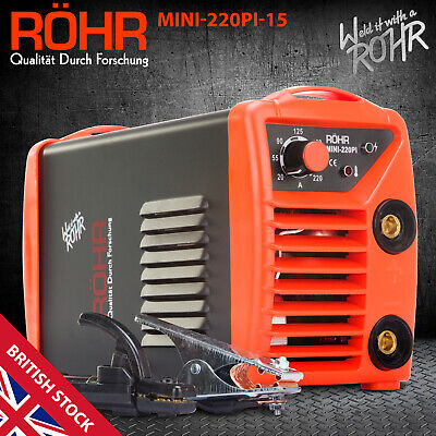 ROHR ARC Welder Inverter MINI 240V 220amp MMA DC Portable Stick Welding Machine