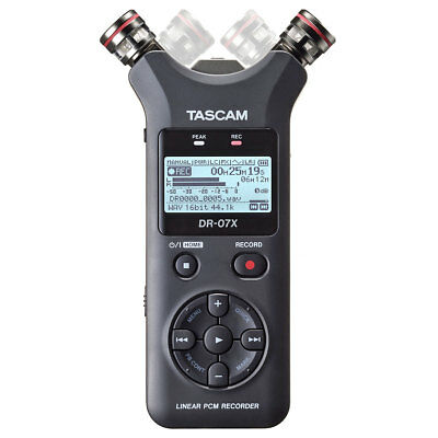 Tascam DR-07X Stereo Recorder Dictaphone with Interface-Funktion