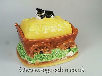 Border Fine Arts  Hay Wagon Butter Dish From  The James Herriot Collection
