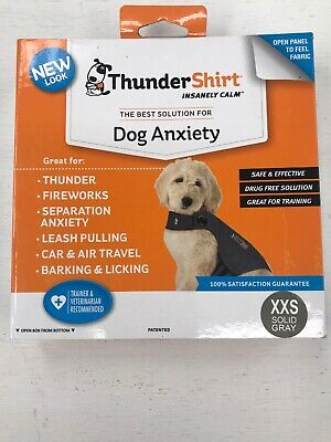 ThunderShirt Dog Calming Solution Solid Gray/Camo XXS XS S M L XL