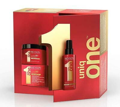 Revlon Uniq One Original Hair Treatment And Hair Mask Set For Damaged Hair
