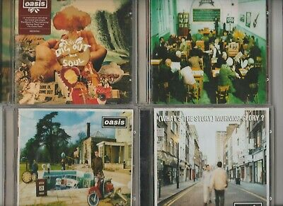 Oasis Job Lot / Dig Out Your Soul / Be Here Now / Masterplan / Whats The Story