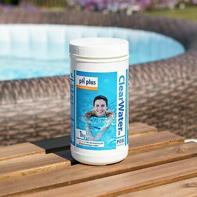 Clearwater - 1kg PH Plus - pH Increaser for Pools, Hot Tubs
