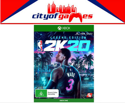 NBA 2K20 Legend Edition Xbox One Game Brand New Pre Order