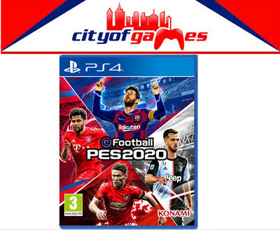 eFootball PES 2020 PS4 Game Brand New In Stock