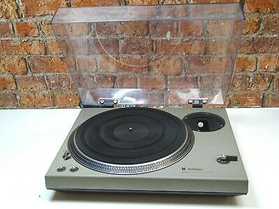 Technics SL-150 Direct Drive Vinyl Turntable Record Player Deck (No Feet On It)