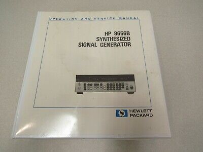 HP / Agilent HP 8656B Synthesized Signal Generator Service Manual Volume 2