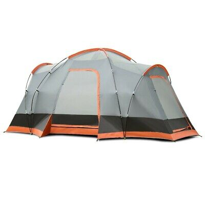 8 Persons Automatic Pop Up Hiking Camping Durable Tent with Bag