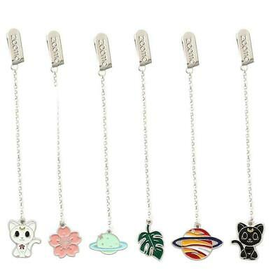 Novelty Cherry Cartoon Pendant Bookmark Stationery School Office Sup M0N7