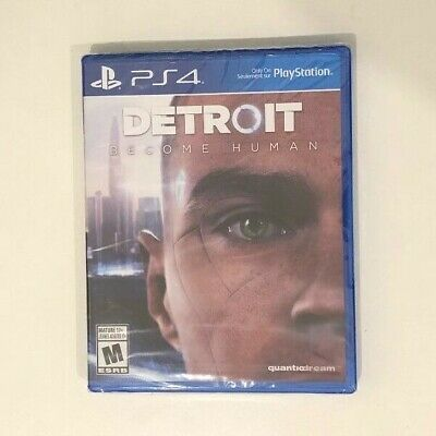 Detroit - Become Human (PS4) PlayStation 4 - Brand New Sealed