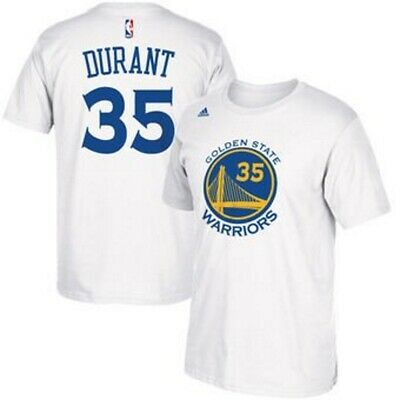 los angeles 9bcbc 0472e GOLDEN STATE WARRIORS Kevin Durant Adidas Youth Jersey White ...