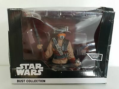 Buste collection figurine résine STAR WARS Altaya Boushh 11,5cm éd COLLECTOR