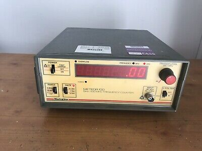 Black Star Meteor 100 FREQUENCY COUNTER