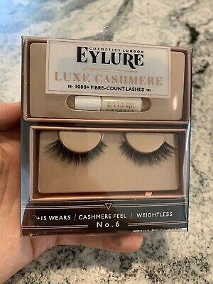 96cbfa0d72d NEW IN PACKAGE: Eylure Cosmetics London Luxe Cashmere Eyelashes No ...