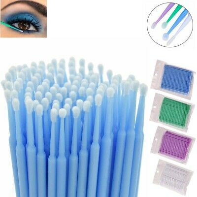 Micro Brush Disposable Extension Make up Stick Eyelash Applicator Mascara Wands