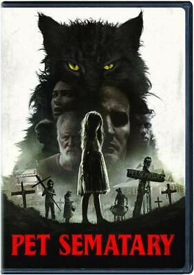 Pet Sematary (Dvd, 2019) - Brand New Sealed! Free Shipping! Remake Hit!