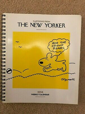 The New Yorker 2014 Weekly Calendar