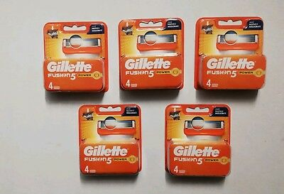 Gillette Fusion 5 Power Ricariche Lame Barba Rasatura