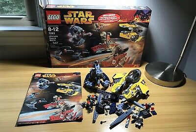 LEGO Star Wars set - #7283 Ultimate Space Battle Ep. 3 - Box & Manual Incomplete