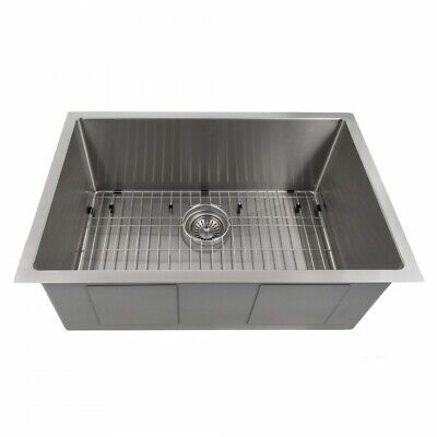 "ZLINE Classic Undermount 27"" Single Bowl Sink Stainless Steel SRS-27"""
