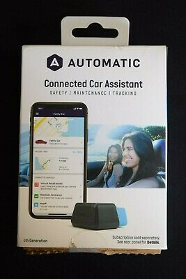 Automatic Connected Car Assistant Adapter and Service, 4th Generation