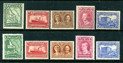Weeda Newfoundland 145/177 F MH First & Re-engraved issues CV $33.75