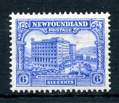 Weeda Newfoundland 177 VF+ MNH 6c ultra 1931 re-engraved Pictorial issue CV $50