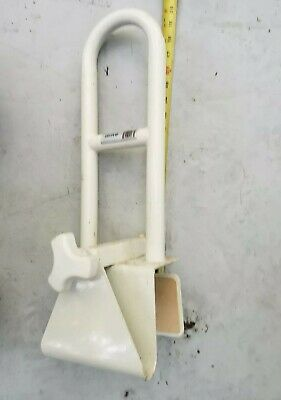 ADJUSTABLE Bathtub Safety Grab Bar Rail Medical Support Bathroom Tub