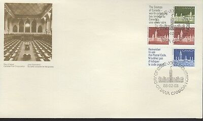 CANADA - BOOKLET PANE - 1187a FDC  - PO CACHET -  1988