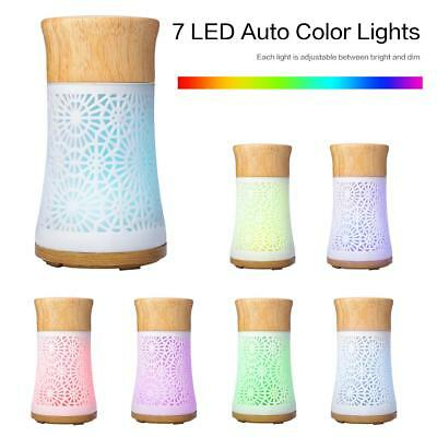 120ml 8 LED Essential Oil Humidifier Ultrasonic Aroma Diffuser Air Aromatherapy