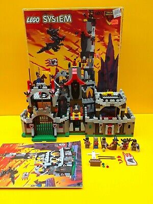 LEGO Figur Castle Fright Knight cas243   Ritter 1 rote Hutfeder   Set 6087 6027