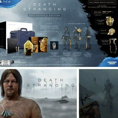 Death Stranding COLLECTOR'S EDITION PS4 - Free Shipping (Pre-Order)