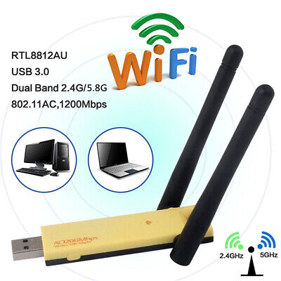 EDUP EP-AC1609-MTK7612 1200Mbps Dual band 2.4G//5.8G wireless network USB adapter