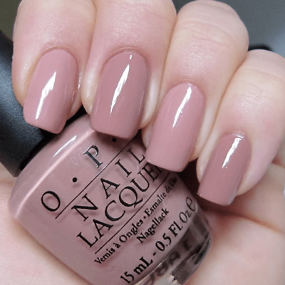 OPI Nail Polish Lacquer  ~Tickle My France-y NL F16~ Taupe Creme Shade 0.5 oz