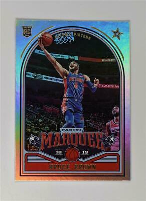 2018-19 Panini Chronicles Marquee Rookies Base #244 Bruce Brown