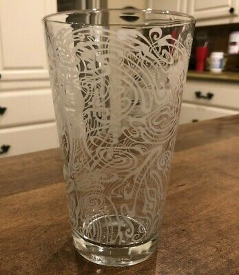 """Magic Hat #9 Etched, """"Drink Me""""  Pint Glass"""