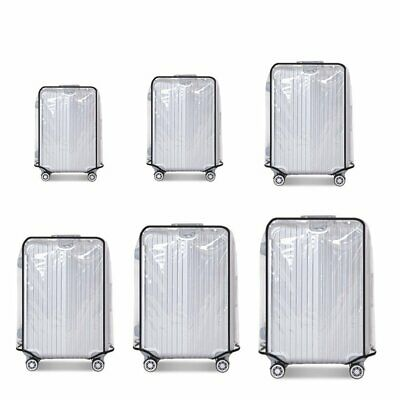 """Transparent Cover Travel PVC Luggage Suitcase Protector 20''22''24''26''28''30"""""""