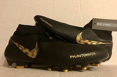df1f8debd Nike Phantom Vision Elite DF FG Black Metallic Vivid Gold AO3262-077 Size  11 ACC