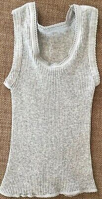 NEW Bonds Baby Girl Singlet (Grey, Size 0000)