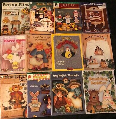 Pattern Craft Project Books Lot Of 12- Bright Ideas, Provo Craft, Palette Pals