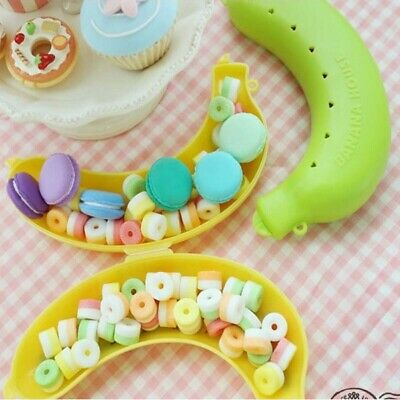 Outdoor Banana Protector Case Container Trip Lunch Fruit Box Storage Holder