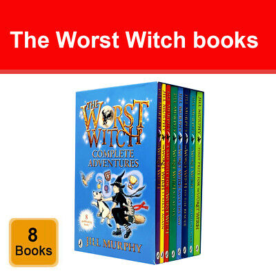 The Worst Witch 8 Books Collection Set By Jill Murphy Puffin Paperback NEW